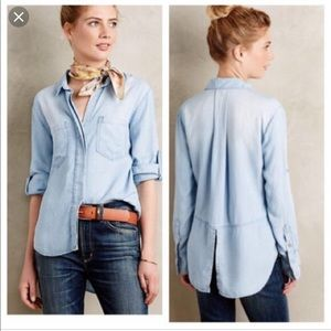Banana republic chambray